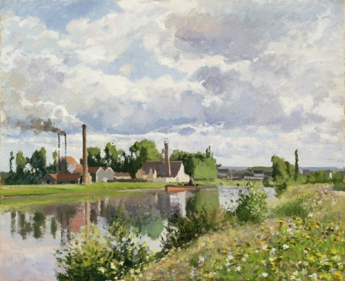 Factor on the Banks of the Oise 1873 Sterling and Francine Clark Art Institute, Williamstown (MA) PDR 300