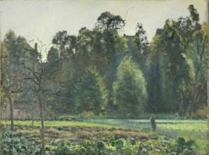 Pissarro landscape