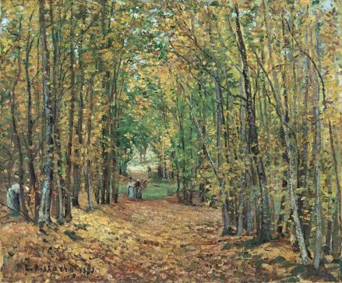The Woods at Marly, 1871 Museo Thyssen-Bornemisza, Madrid