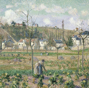 The Garden at Maubuisson, Pontoise, 1882, PDR 696 Bonhams, Lot 23