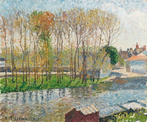 Banks of the Loing at Moret, 1901, PDR 1369 Sothebys, Lot 39