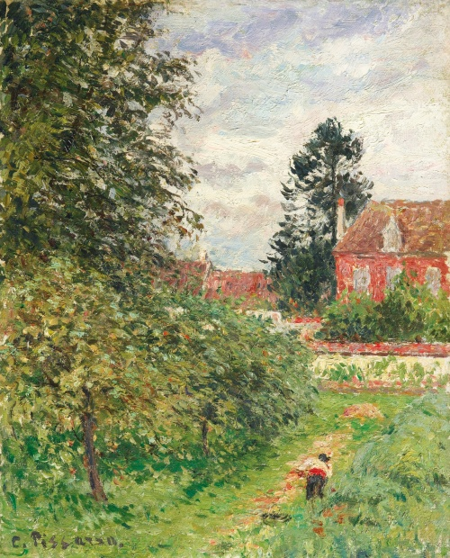 "The ""Englishman's House,"" Eragny, c. 1902, PDR 1465 Sothebys, Lot 44"