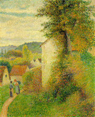 The Path, 1889 Camille Pissarro, PDR 871 Detroit Institute of Art