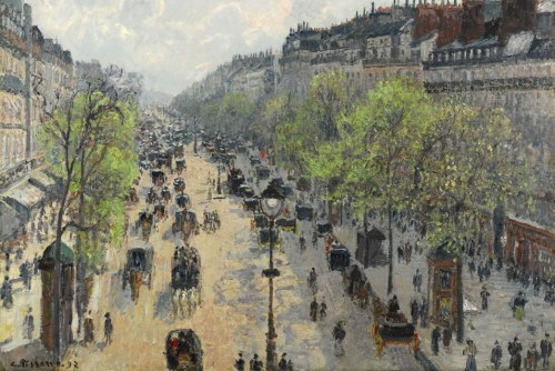 Boulevard Montmaratre, Spring Morning, 1897 PDR 1171