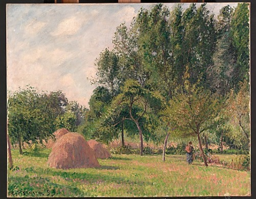 Haystacks, Morning, Éragny 1899 Metropolitan Museum of Art, New York   PDR 1282