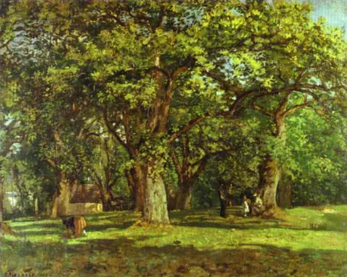 THE FOREST 1870  PDR 172 Johannesburg Art Gallery, Johannesburg, South Africa