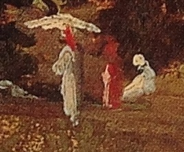 Detail from Landscape with Women under a Large Tree