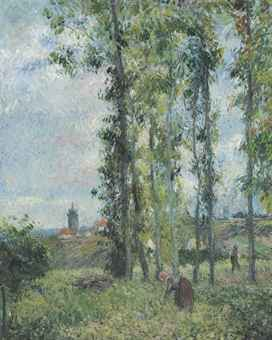 Landscape at Pontoise, c. 1879 Private collection PDR600