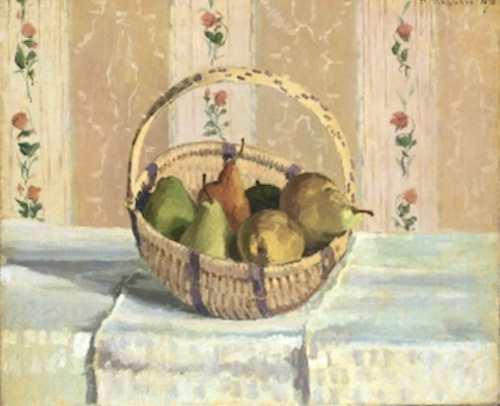 Apples and Pears in a Circular Basket, 1872 Princeton University Art Museum, Princeton, NJ  PDR 269