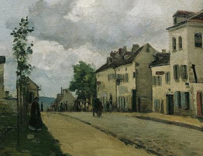 Rue de Gisors - 1868 Osterreichische Galerie Belvedere, Vienna, Austria PDR 127
