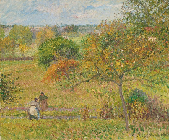 Autumn at Eragny, 1900 Private collection PDR 1342