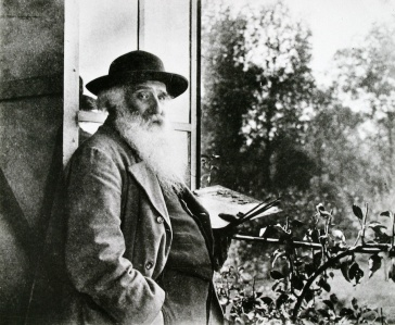Pissarro in his Studio at Eragny