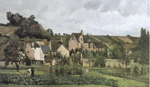 119 L'Hermitage at Pontoise 1867
