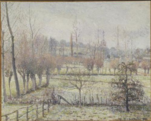 1018 Effet de neige a eragny 1894