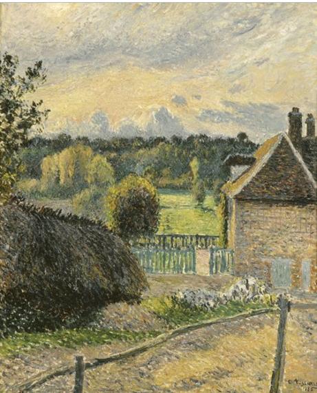 800 La Maison Delafolie a Eragny 1885