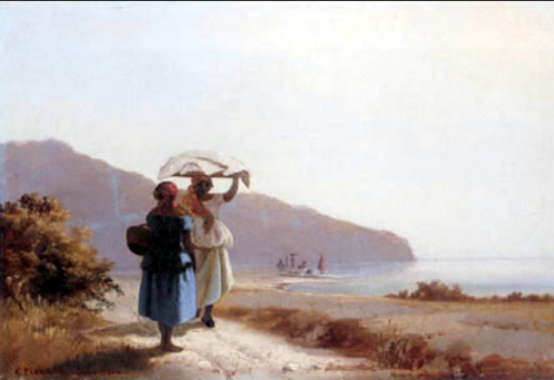 Two Women by the Sea