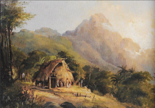 hut painting