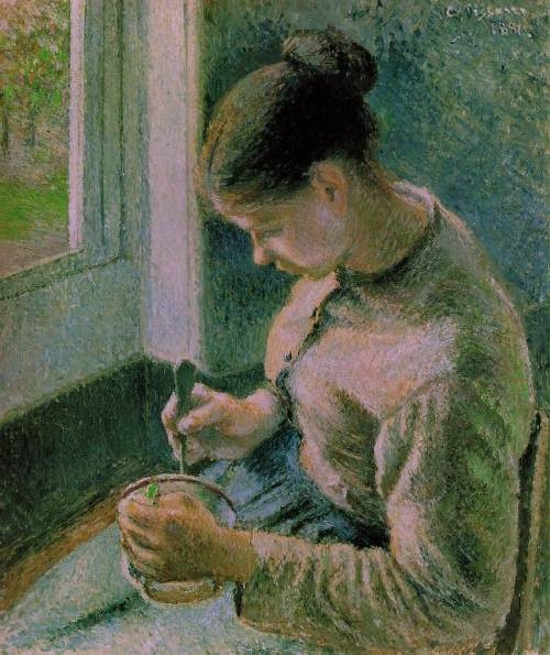 662 Breakfast, Peasant Girl