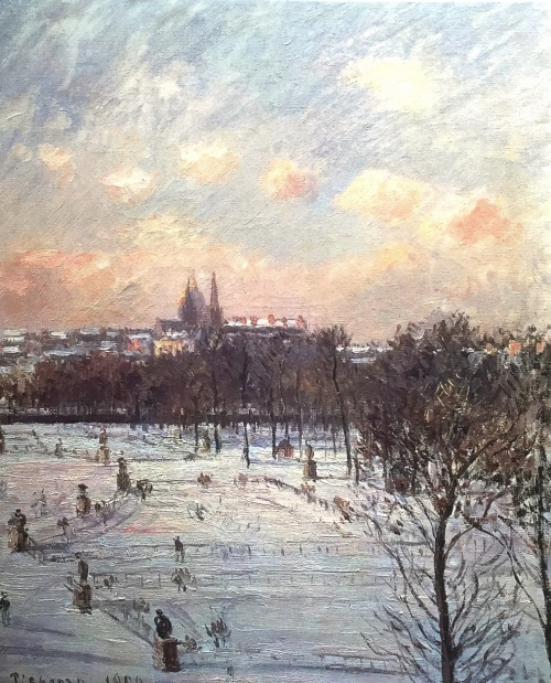 1305 Tuilleries Snow 1900 2