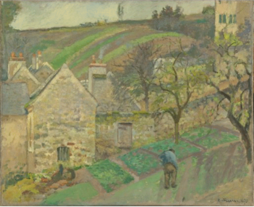 291 Hill at l'Hermitage 1873