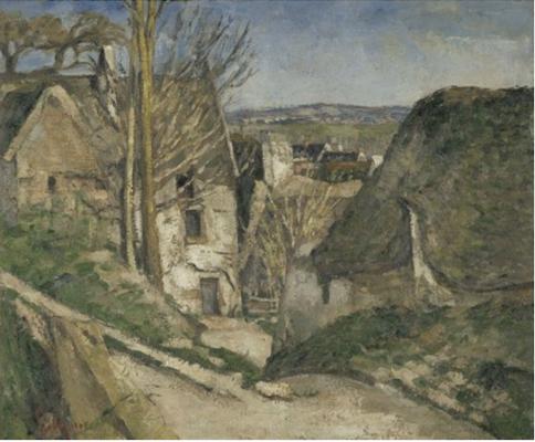 Cezanne Hanged Man's House