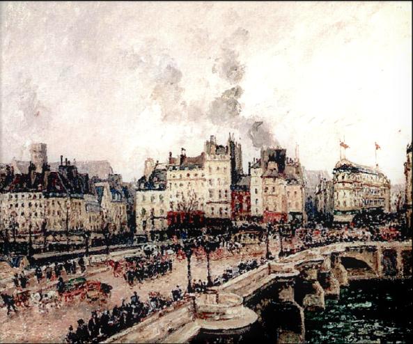 1416 Le Pont-Neuf, Temps gris, 1902