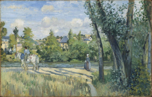350 Landscape, Bright Sunlight, Pontoise 1874