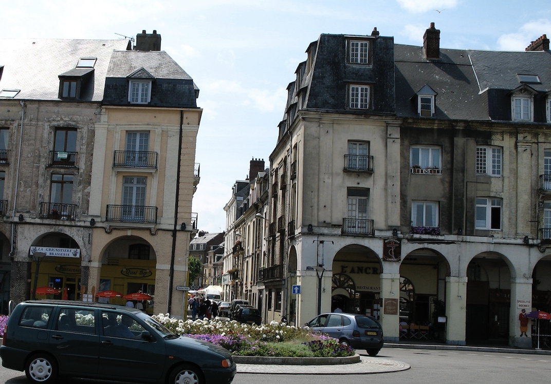Arcades de la Poissonnerie, Dieppe