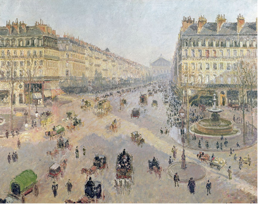 Place du Théâtre-Français and the Avenue de l'Opéra