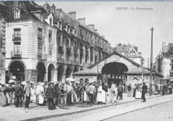 Postcard - Fish Market