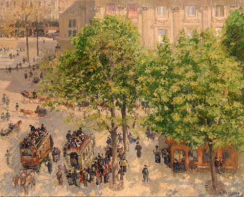 1209 Place du theatre-francaise, apring 1898 2.png