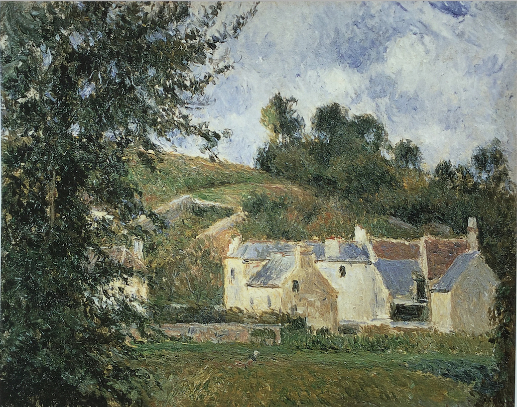 603 Houses at l'Hermitage 1879